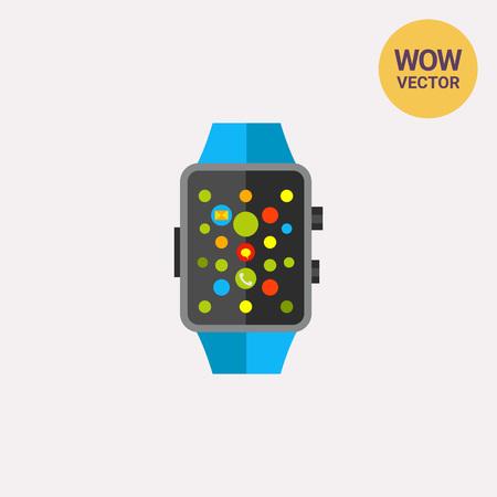 Apple Watch Icon Illustration