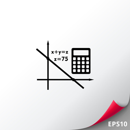 multiplication: Algebra simple icon