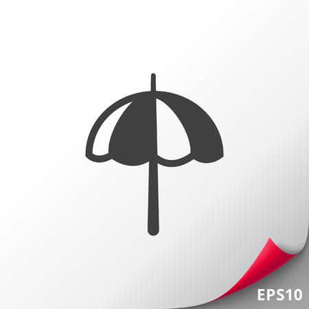 Beach umbrella Illustration