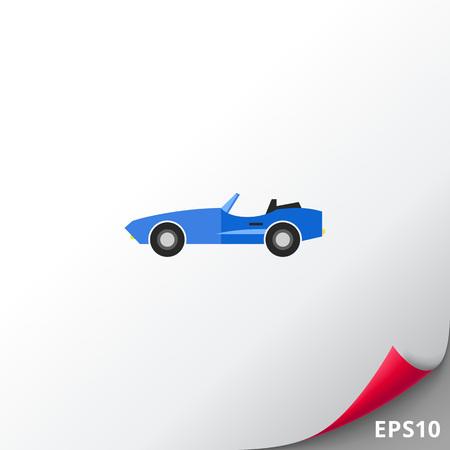 automobile door: Cabriolet Concept Icon