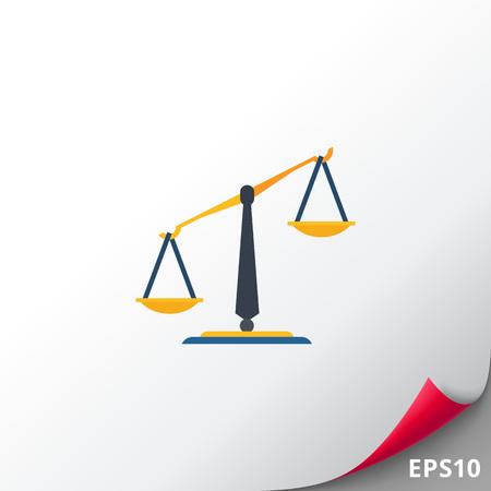 Klassische Balance Symbol Vektorgrafik