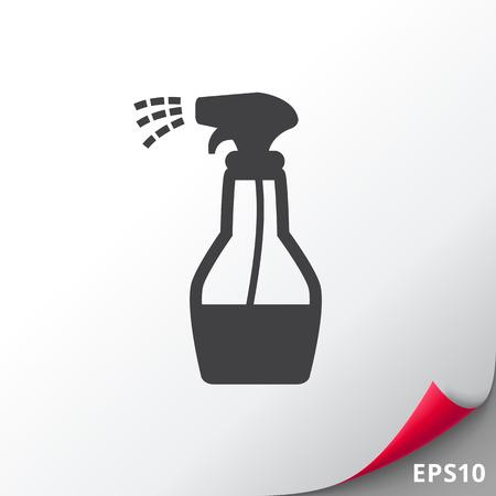 Pulire la bottiglia spray
