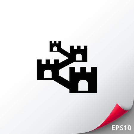 Defensive wall icon