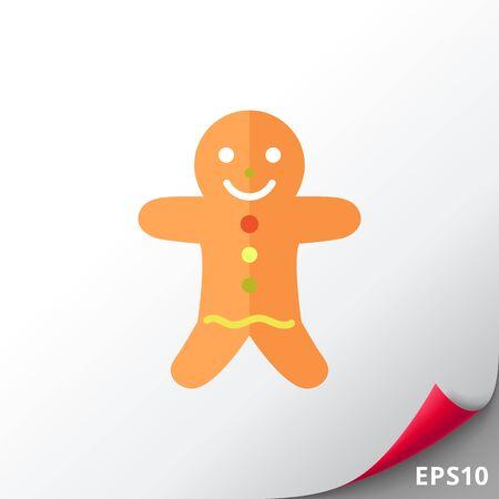 christmas cookie: Gingerbread man