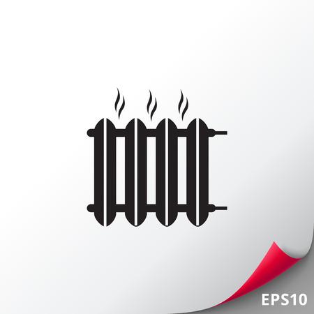 Hot heater icon