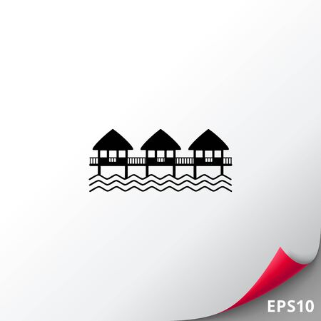 Hotel on Water Icon