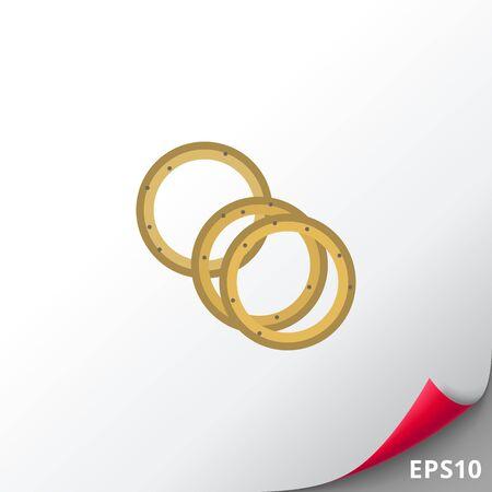 onion rings: Onion rings icon