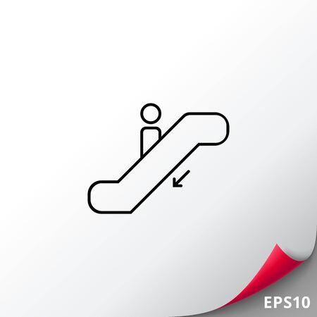escalator: Down escalator
