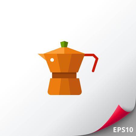 Espresso coffee maker icon