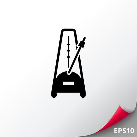 Metronome with pendulum Illustration