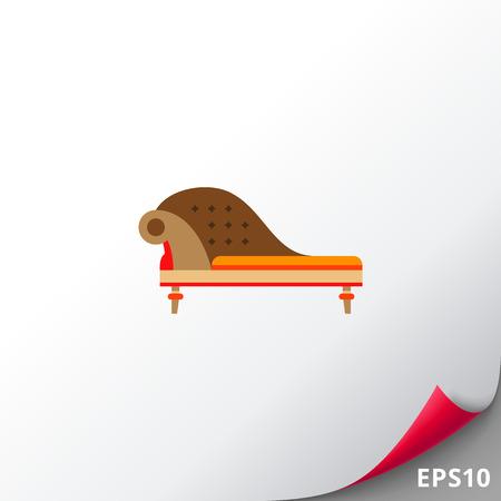 comfortable: Classic Sofa Icon