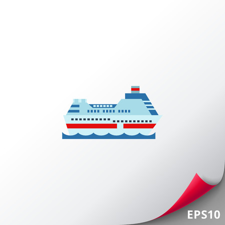 Cruise Ship Icon