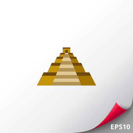 kukulkan: Mayan Temple pyramid of Kukulkan icon