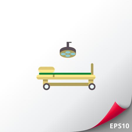 Operating room icon Illustration