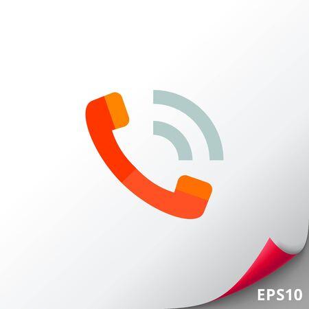 old phone: Phone Handset Icon
