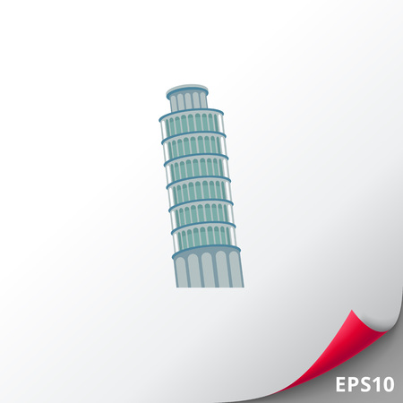 leaning tower of pisa: Pisa tower icon