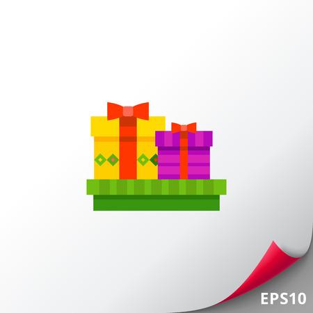 Present Boxes Icon