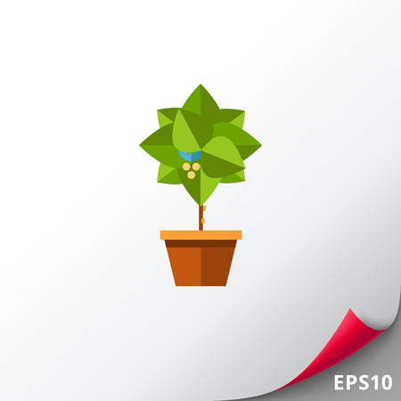 potting soil: Potted tree icon