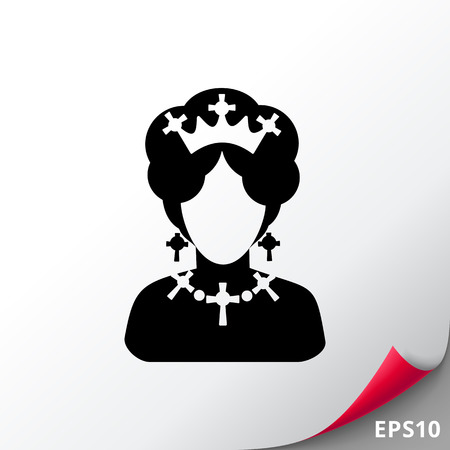 Queen  Icon Illustration