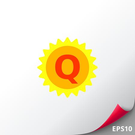 Quality Label Icon