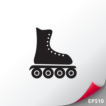 roller blade: Roller Blade Icon