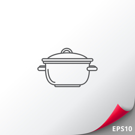 stewing: Saucepan icon