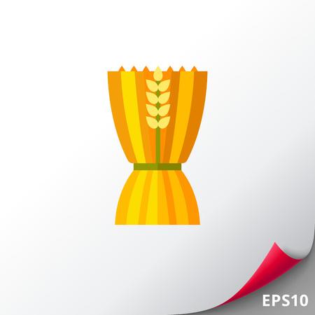 Sheaf of wheat ears icon