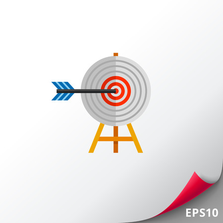 Targeting Concept with Arrow Icon