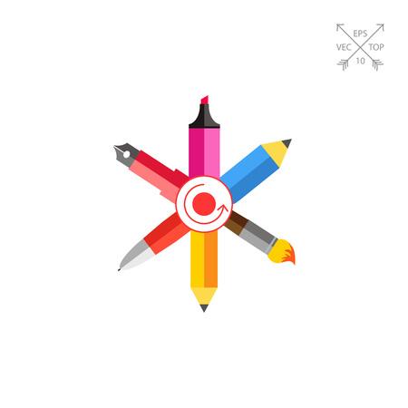 Designer tools Illustration