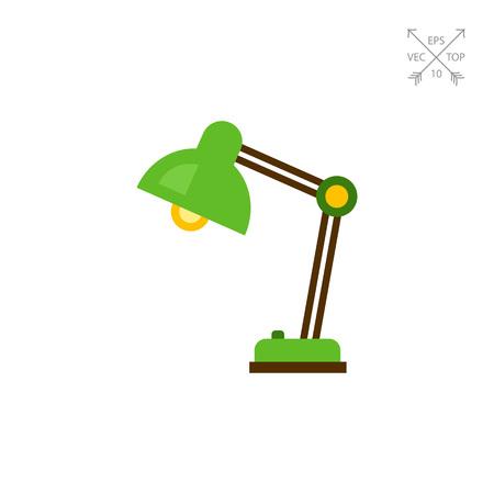 modern living room: Desk lamp flat icon