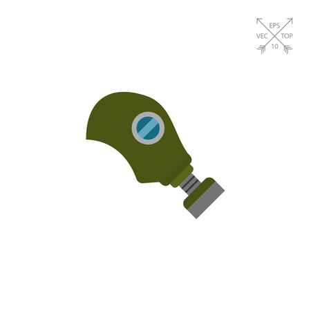 Gas mask icon