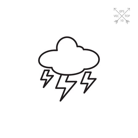 thunderstorm: Heavy thunderstorm