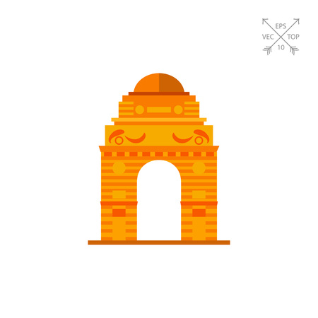 Indian Gate Icon