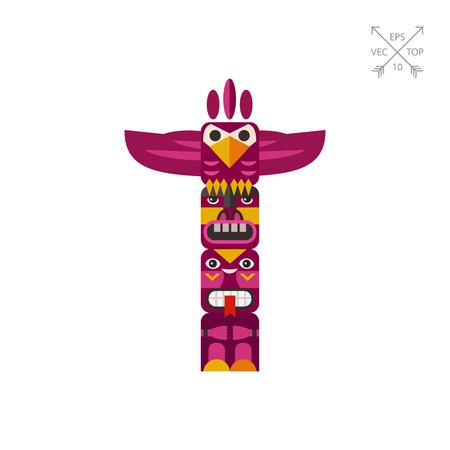 745 totem pole stock illustrations cliparts and royalty free totem rh 123rf com hawaiian totem pole clipart totem pole outline clipart
