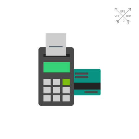 cashless payment: Cashless payment with credit card