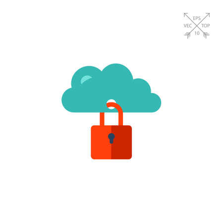 Cloud Identity Security Icon