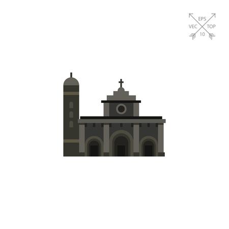 manila: Gloomy Manila Cathedral icon