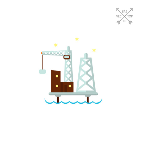 oil and gas industry: Oil platform