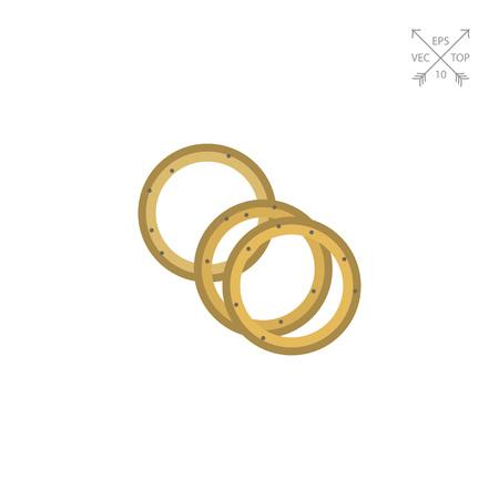 onion rings: Onion rings