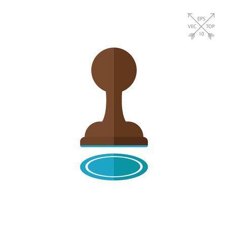 chessman: Pawn icon Stock Photo