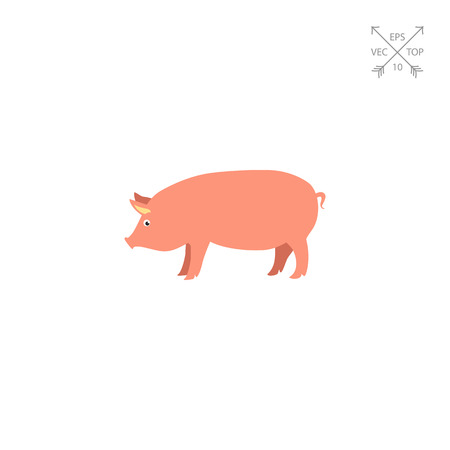 Pig icon Illustration