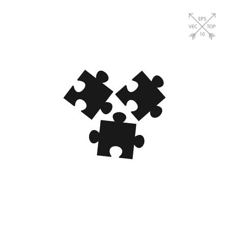 disconnection: Puzzle elements icon