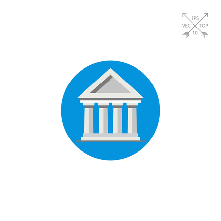 courthouse: Bank Building Icon