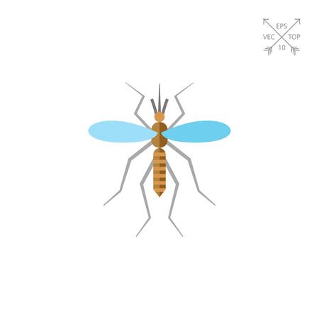 feeler: Mosquito flat icon
