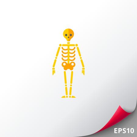 sternum: Human skeleton icon