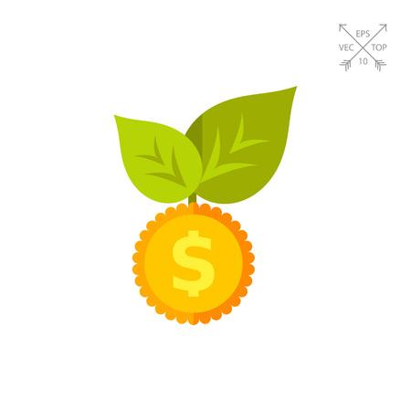 Seed Money Vector Icon