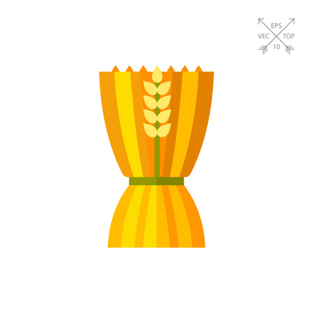 Sheaf of wheat ears icon