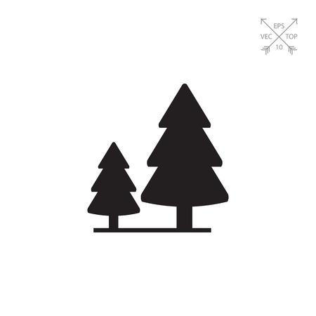 針葉樹林のサイン 写真素材 - 75497383