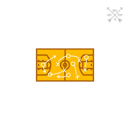 strategical: Strategical Basketball Game Plan Icon