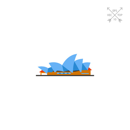 Sydney Opera House icon Illustration